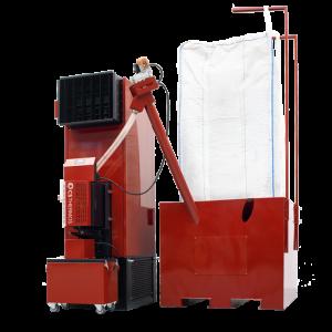 Pelletketel warme lucht generator